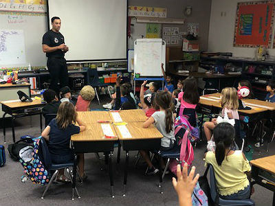 Chandler FirePal Lessons at Basha Elementary