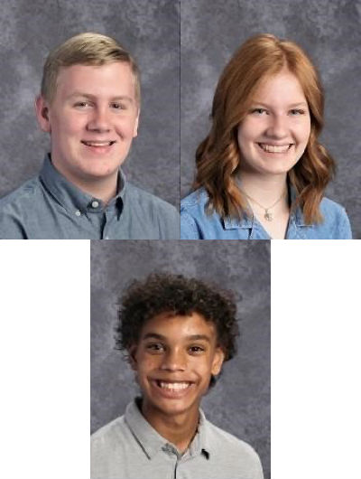 Kenny Applegate, Elise Owens, and Khaymin Westbrook