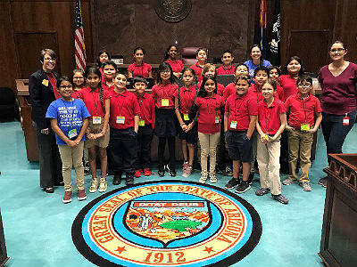 Field trip to the Arizona Capitol