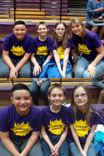 Sanborn First Lego League Team