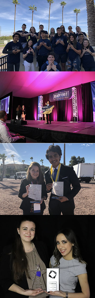Casteel DECA State Career Development Conference Winners