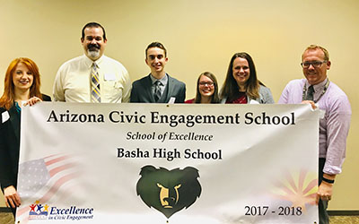 Basha High, Arizona Civic Engagement School of Excellence