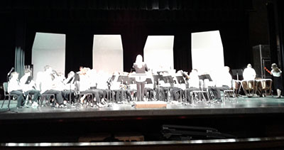 Payne Junior High Symphonic Band at ABODA