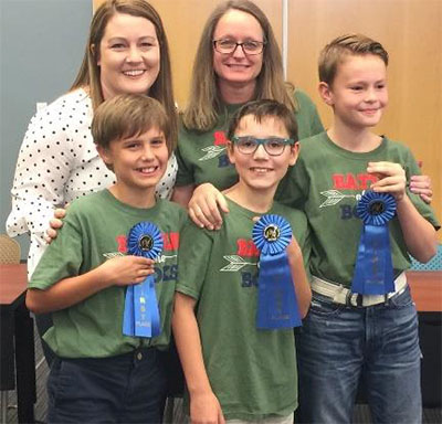 Battle of the Books Winners