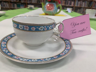 Volunteer Tea Celebration