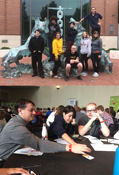 CHS Students at Goethe Institut Sustainability Summit