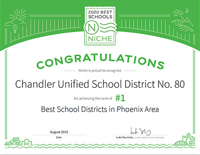 Best School District in Arizona