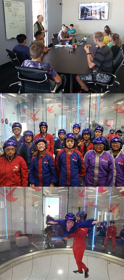 iFLY Sky Diving