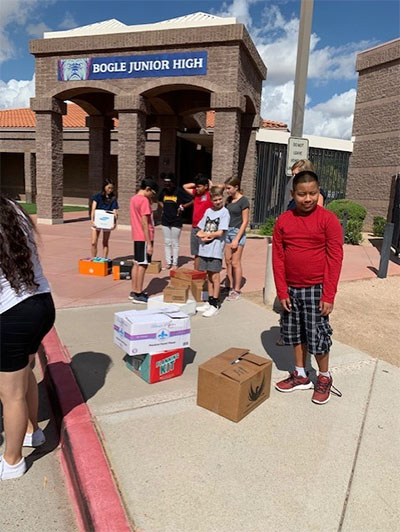 Toiletries for Chandler Care Center