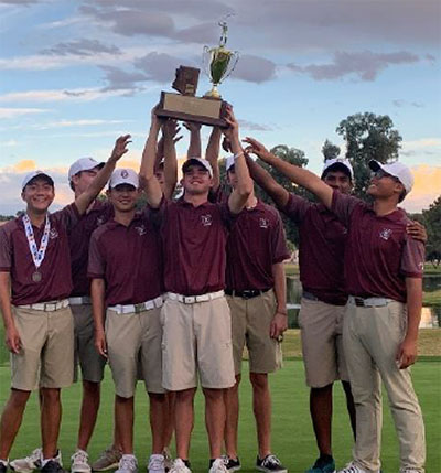 Boys Golf Division 1 State Champs
