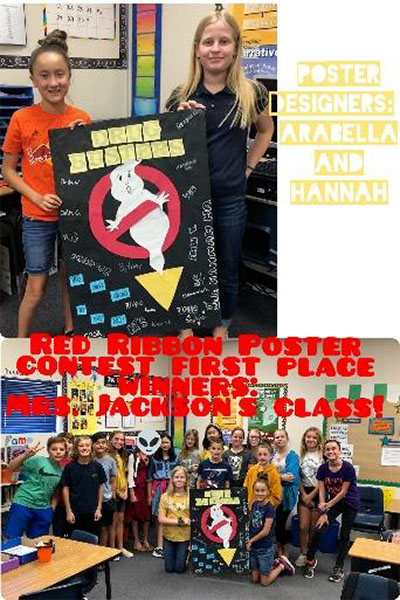 Say No to Drugs Poster Winners