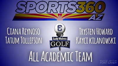 CHS All-Academic Girls Golf Atheltes