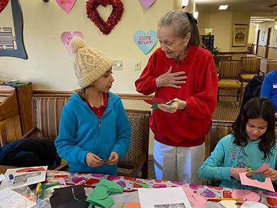Valentines for Brookdale Senior Living