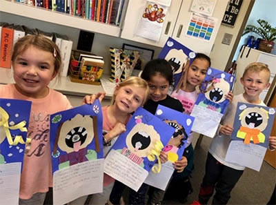 First Graders Share their Winter Stories