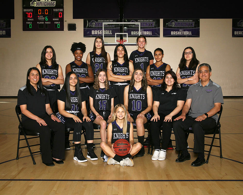 Lady Knights Basketball Team