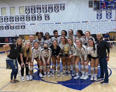 Hamilton Girls Win Volleyball Title