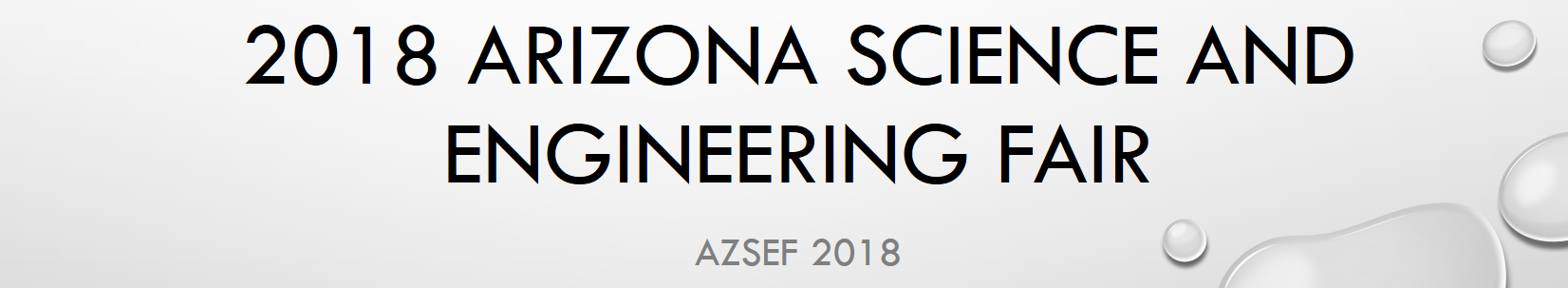 2018 Arizona Science and Engineering Fair