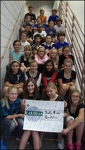 Mrs. King's 5th grade class participated in the Sally Ride EarthKAM project.