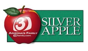 3TV Silver Apple Logo