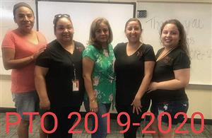 PTO Officers 2019-2020