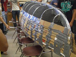 Clark Jim Cardboard Duct Tape Canoe Project