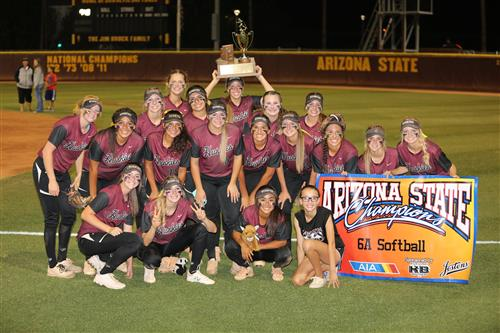 Hamilton Softball 6A State Champs