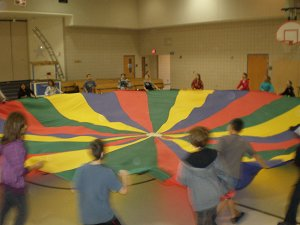 Even 6th Graders like the Parachute