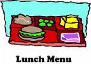 lunch menu