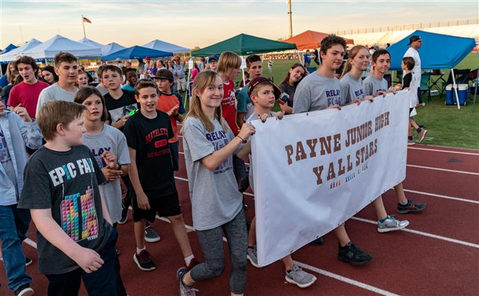 Payne Team at Relay for Life
