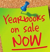 Yearbooks on sale now