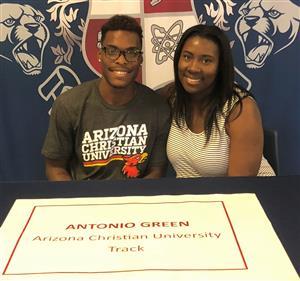Antonio Green Signing Day May 23, 2018