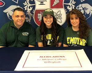 Alexis Arena Signing Day 11-14-18