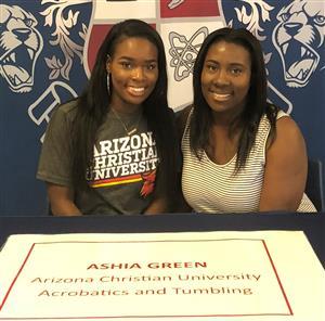 Ashia Green Signing Day May 23, 2018