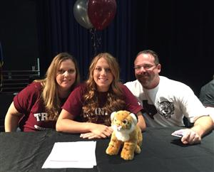 Emily Babcock Signing Day 2015