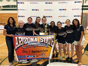 Badminton State Champs 2018