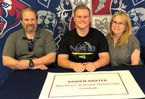 Kaiden Baxter Signing Day 2-7-18