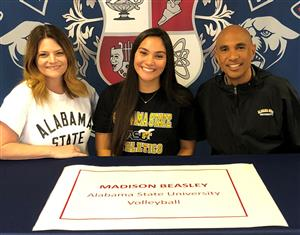 Madison Beasley Signing Day 11-14-18