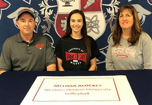 Melissa Blockey Signing Day 11-14-18