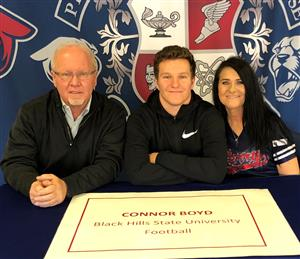 Connor Boyd Signing Day 2-6-19