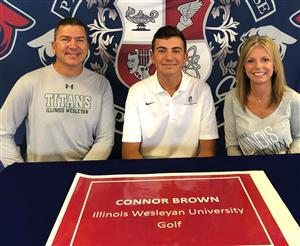 Connor Brown Signing Day April 2019