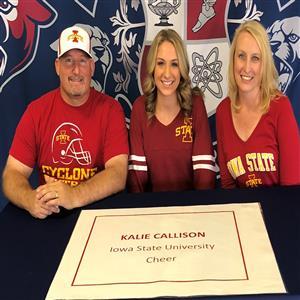 Kalie Callison Signing Day 5-8-18