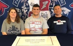 Vincent Corral Signing Day 2-7-18