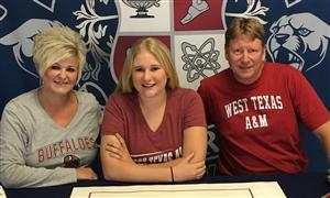 Gabby Emery Signing Day Nov. 2016