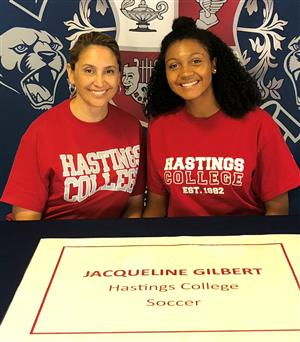 Jacqueline Gilbert Signing Day 4-11-18