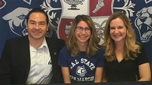 Alyssia Gonzalez Signing Day 4-12-17