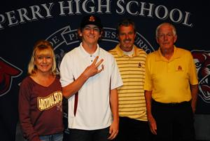 Jeremy McCuin Signing Day