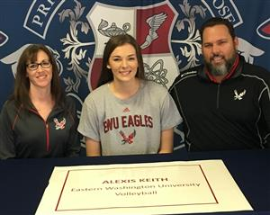 Alexis Keith Signing Day 11-2017