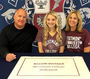 Keelyn Kistner Signing Day 11-14-18