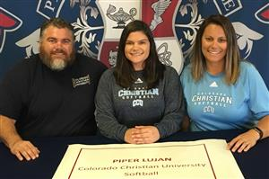 Piper Lujan Signing Day 11-2017