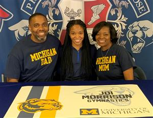 Joi Morrison Signing Day 11-19